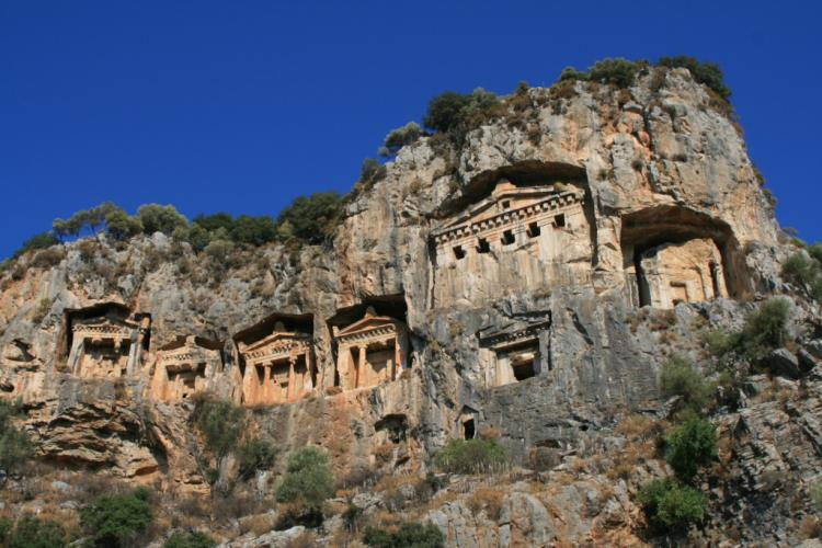 The magnificent rock tombs